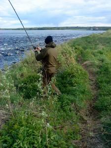 drillade laxen i fiskereportage förväntningar kan lätt bli frustration i fisketidning fiskemagasinet.se