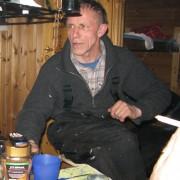 nils-rolf berättar om smeknamnet i fiskereportaget röde baron i iesjavri på fisketidning