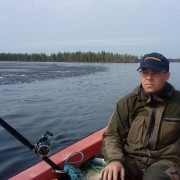 jakten efter storöringen i fiskereportage joe labero i hovlössjön i fisketidning