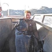 team poseidon i söröya - 2011 med drömflundra i fisketidningen