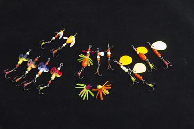 fisketidning visar objekt demonspinnare