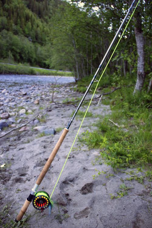ett hardy swift 13-fot klass 8 i fiskereportage min första skagitlax i fisketidning, fiskemagasinet.se