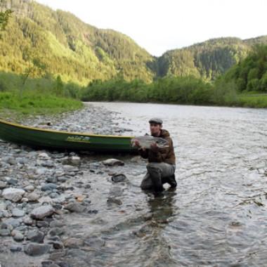 min första skagitlax i fiskereportage