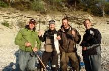 Fredrik, Matte, Johan och Kenny var på Gotland i ett avsnitt av